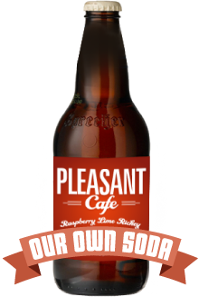 Our Own Pleasant Cafe Soda!